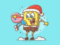 Dribbble spongebob remake 10