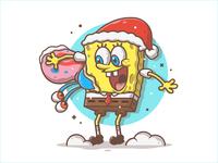 Dribbble spongebob remake 11