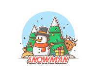 Snowman remake dribbble 05