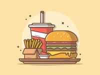 Combo menu! 🍔 🍟🥤 😅