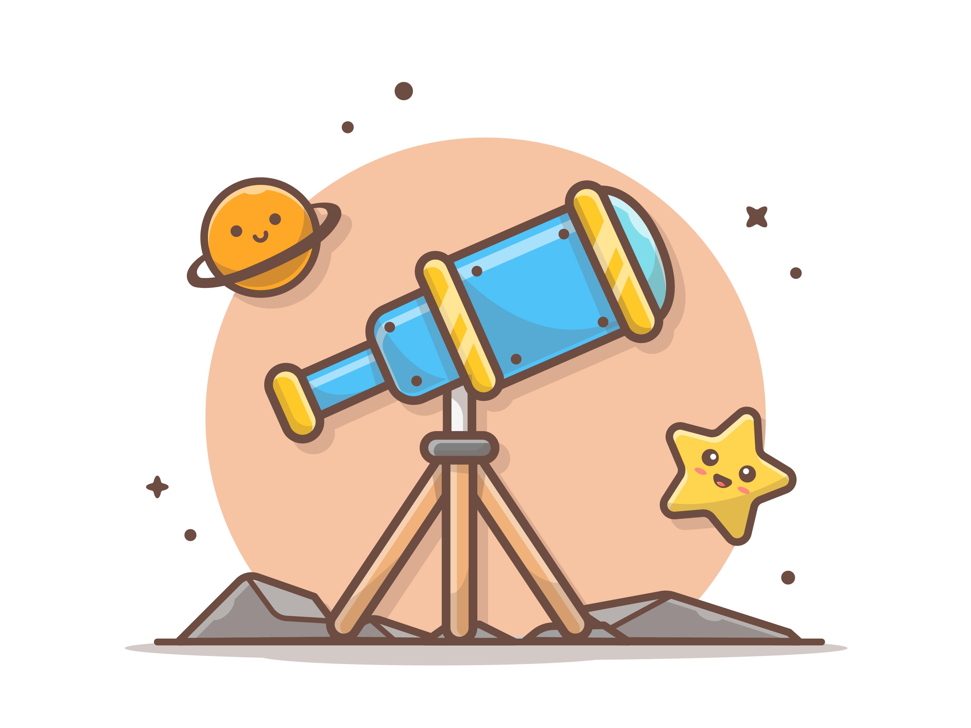 Telescope dribbble 07