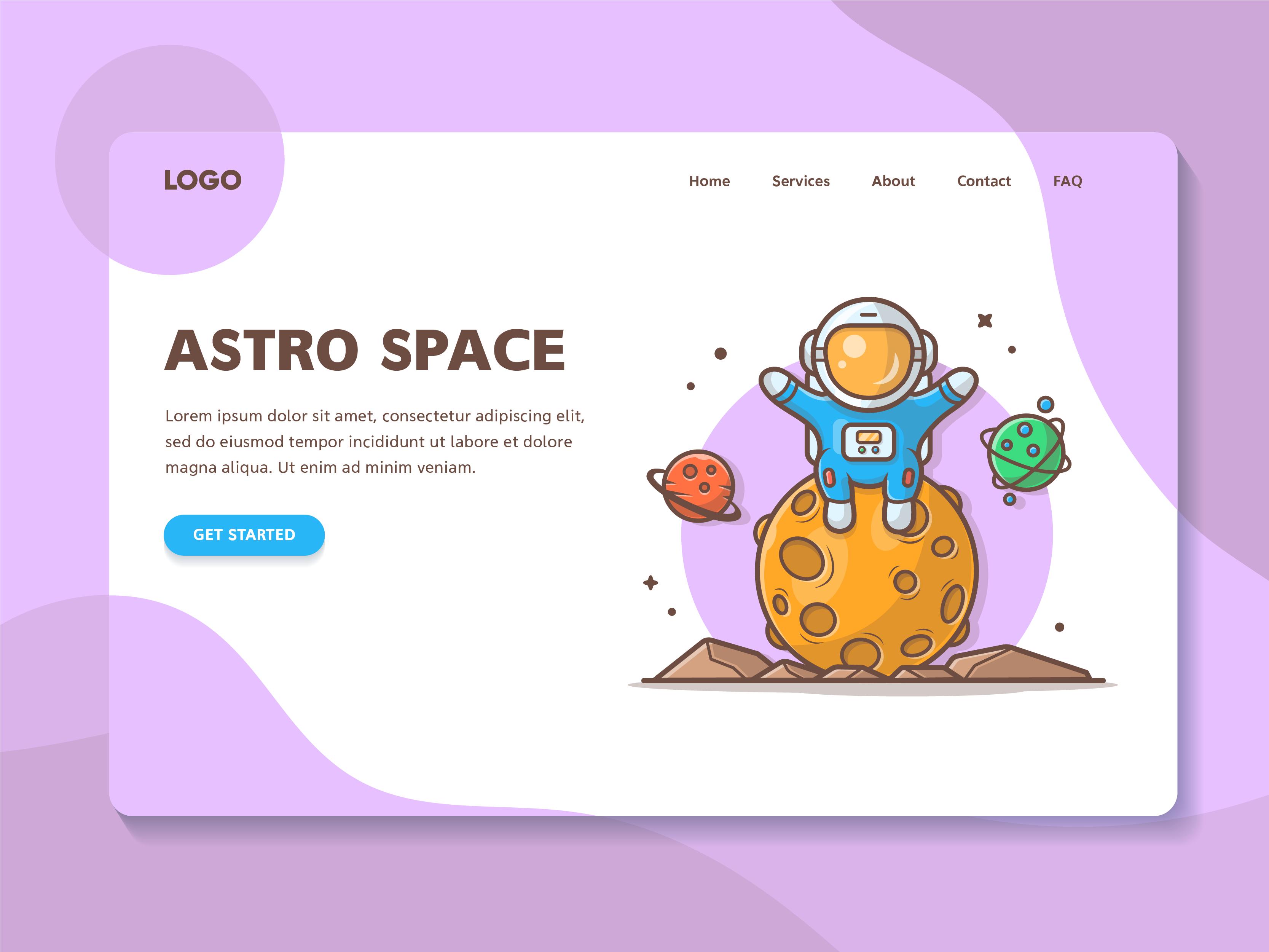 Astro sitting on moon 06