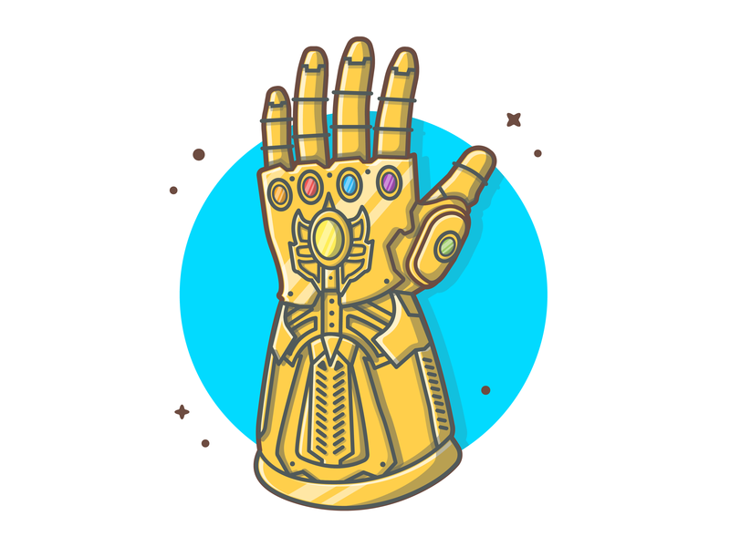 End Game is Coming!! 😍🙌 avangers super marvel minimal cute logo lineart vector flat icon illustration dribbble