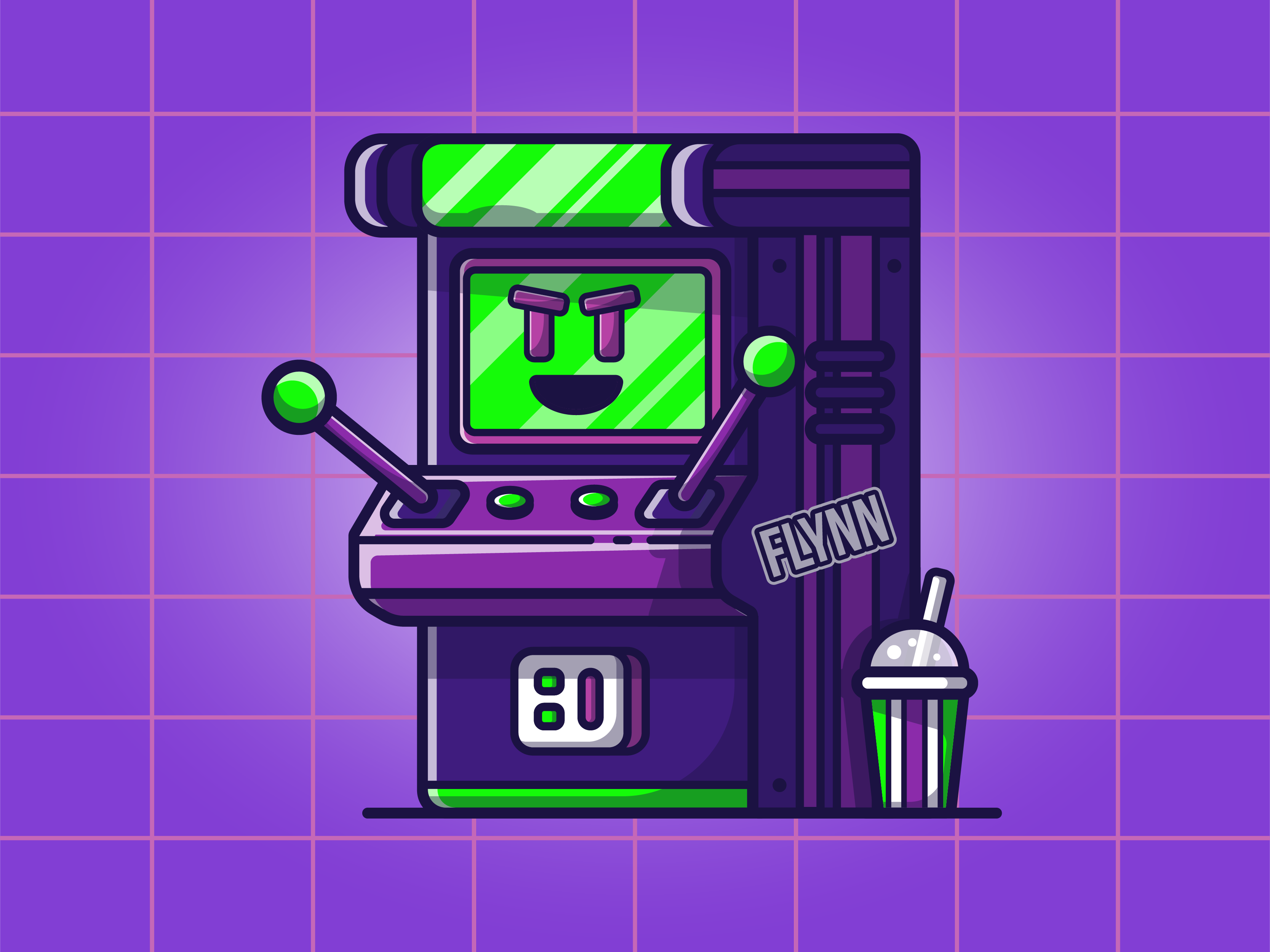 Dribbble mascot 03