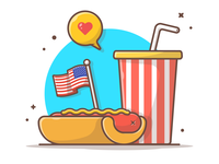 Happy Independence for our American friends 🌭🤘