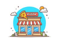 Pizza shop! 🍕🍕🍕