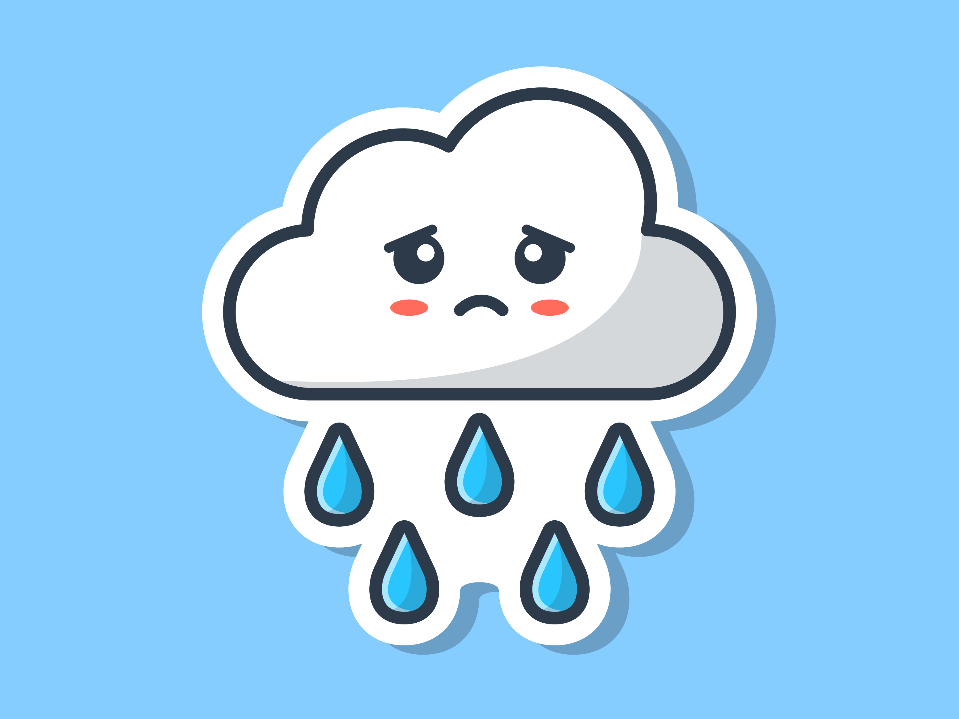 Clouds dribbble 03