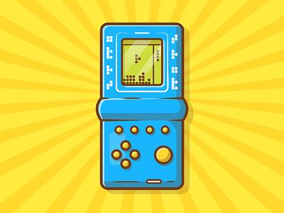 Tetris!!! 🎮🕹😽 retro play vintage brick icon logo illustration old pixel puzzle game tetris