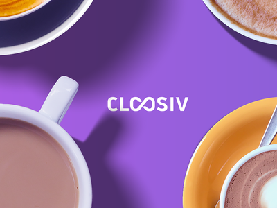 Cloosiv logo design typography color icon logo brand identity purchase shopping digital promotion wallet app cloosiv
