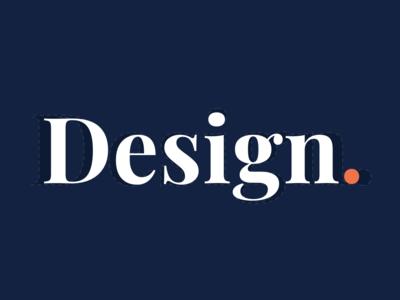 Design. typogaphy design typeface