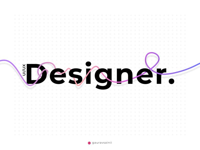 Designer ui typography typeface design