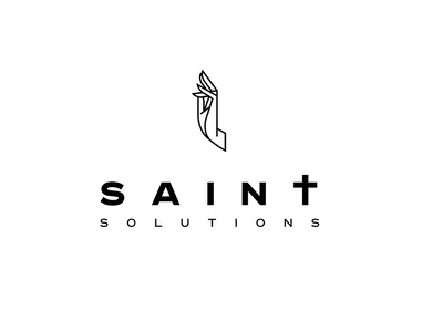 Saint logo christian logo christian design christianity christan logo for sale saint logo logo design saint logo