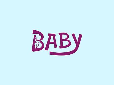 Baby logo for sale baby design newborn baby diapers baby logo baby logo design logo