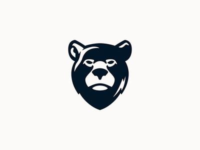Bear logo for sale bear head vector bear vector bear design bear illustration bear logo bear animal character animal animal logo illustration logo design logo