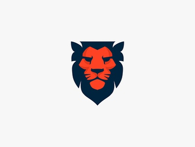 Lionshield logo for sale shield logo shield emblem lion head lion logo lion animal character animal animal logo illustration logo design logo