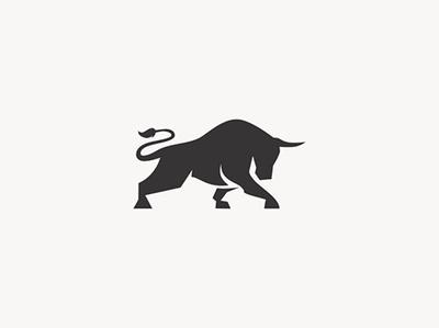 Bull logo for sale bull illustration bull logo bull animal character animal animal logo illustration logo design logo