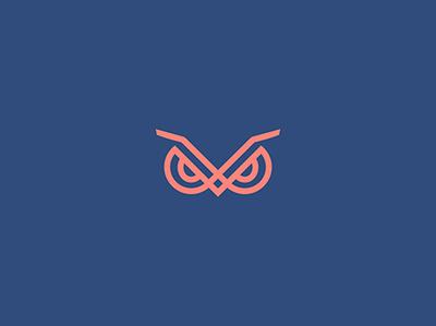 Owl minimalistic logo minimalistic logo minimalistic owl illustration owl logo owl logo for sale animal character animal animal logo illustration logo design logo