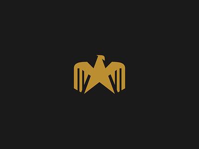 Golden eagle eagle illustration bird logo bird eagle logo eagle animal character animal animal logo illustration logo logo for sale logo design
