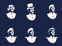 An Officer and a Gentleman illustration / logo