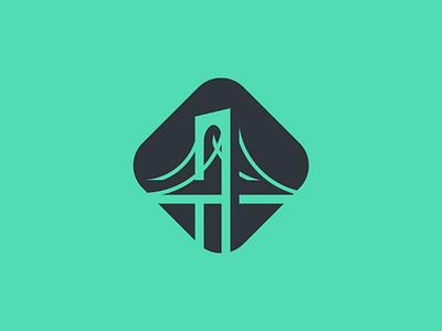 Bridge logo logo bridge minimalism forsale