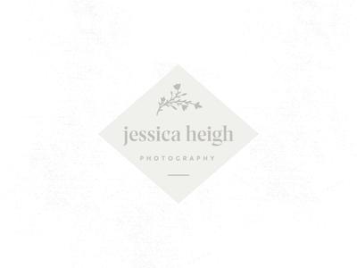 Jessica Heigh photographer photography flowers icon branding logo