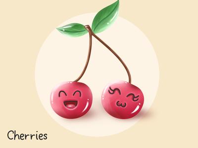 Cherries Kawaii