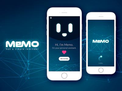 Memo - AI Reminder App Mobile Ui
