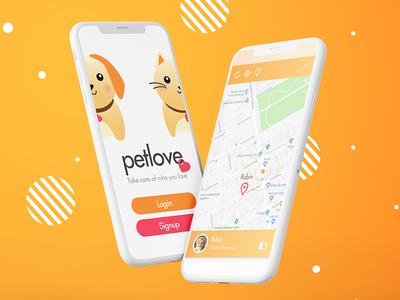 Petlove - Concept Pets App Mobile Ui
