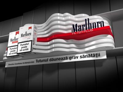 shelftalker for Marlboro Filter Plus