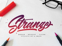 Strange - Made with Kindness Typeface