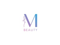M_Beauty logo design