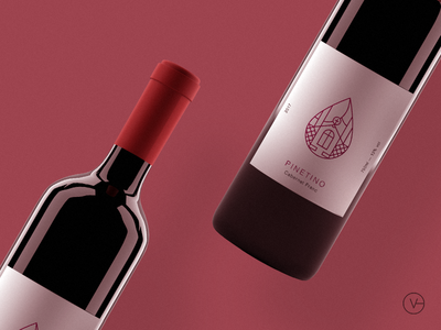 Pinetino - packaging bottle wine logo packaging brand identity