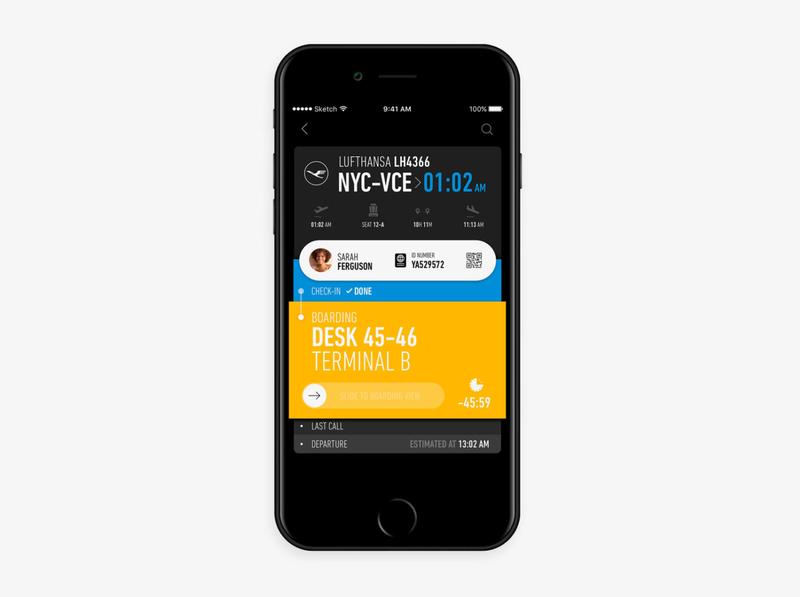 Flight Tracking App Concept