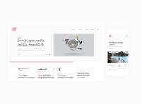 Design Group Italia Website