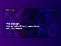 MEG Website UI