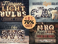 Marquee Light Bulbs - All in 1