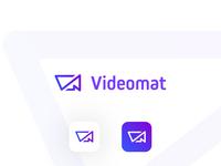 Videomat - logo for mobile video app
