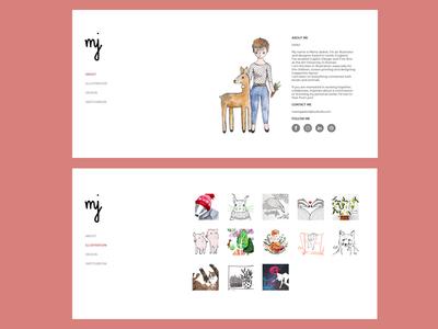 Online Portfolio website portfolio