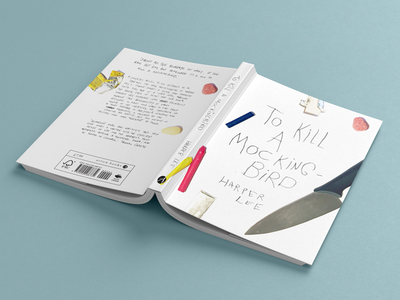 Book Cover Design: To Kill A Mockingbird photography graphic design random house competition penguin books penguin harper lee to kill a mockingbird cover book cover design book