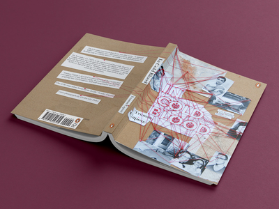 Book cover design: In Cold Blood non fiction true crime novel truman capote in cold blood graphic design cover design book