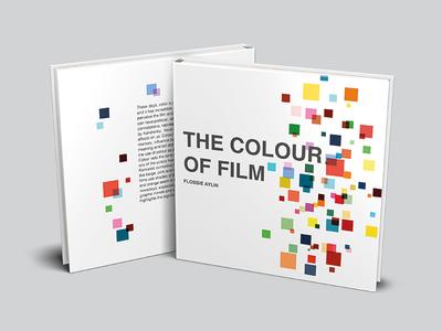 Book Design: The Colour of Film palette cinematography production cinema movie films classics greats colour design book film