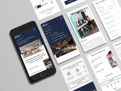 Responsive Design: The Bradfield Centre technology tech digital graphic design web design iphone phone mobile responsive ux ui