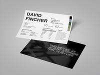 L'Auteur: David Fincher