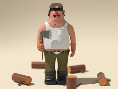 Tonko the lumber jack
