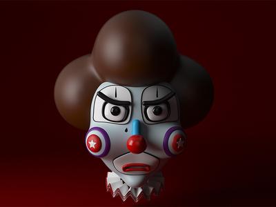 Upset clown