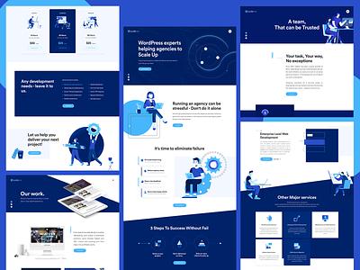 CodeRex Design ux design ui design ux ui team site modern inspiration illustraion idenity design contact clean brand agency