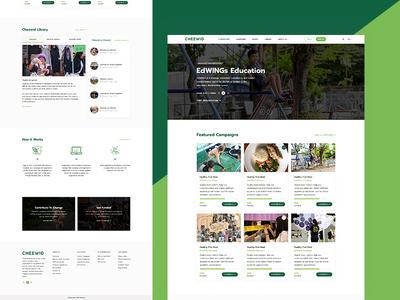 Cheewid Website Redesign
