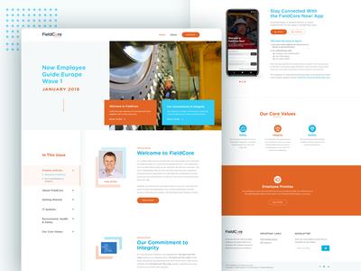 FieldCore - A GE Company Website