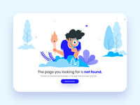 404: RexTheme Error Page Illustration