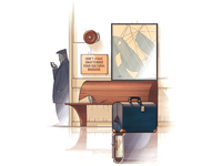 The baggage
